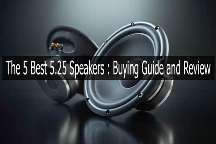 The 5 Best 5 25 Speakers To Buy In 2019 Buying Guide And Review