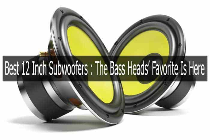 Best 12 Inch Subwoofers 2019 The Bass Heads Favorite Is Here
