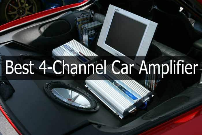 4-Channel Car Amplifier