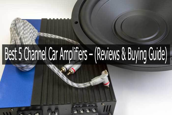 5 channel car amplifier