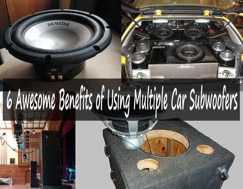 Benefits of Using Multiple Car Subwoofers