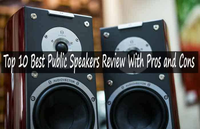 Top 9 Best Powered PA Speakers Review With Pros and Cons