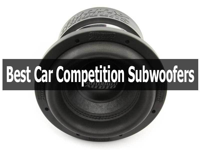 Car Competition Subwoofers