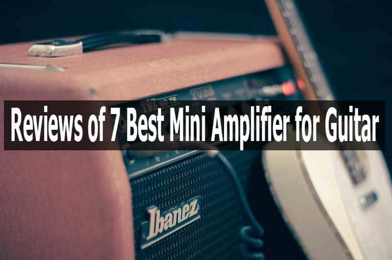 Mini Amplifier for Guitar