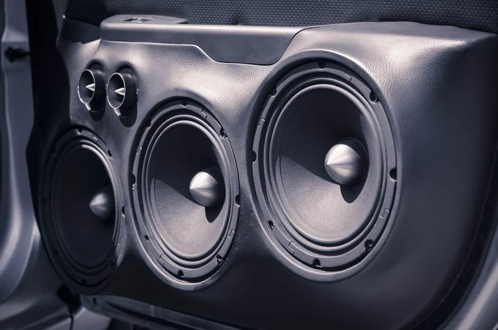 Car Audio System Speakers