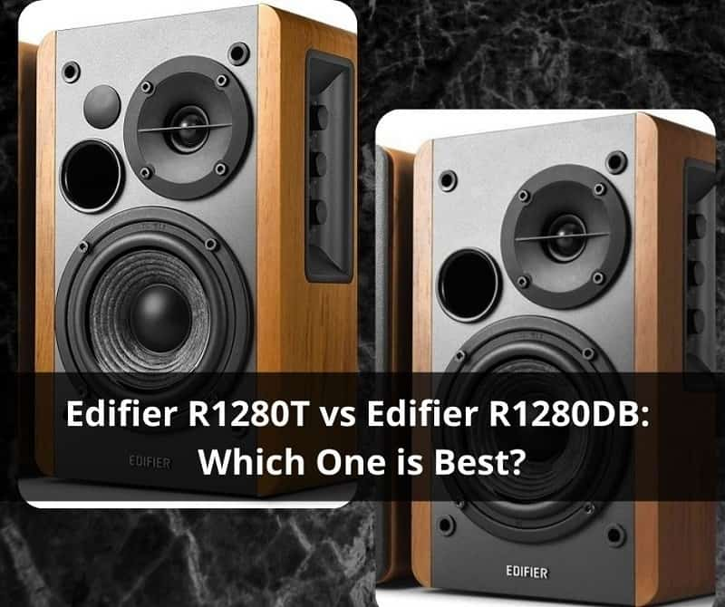 edifier r1280t vs r1280db