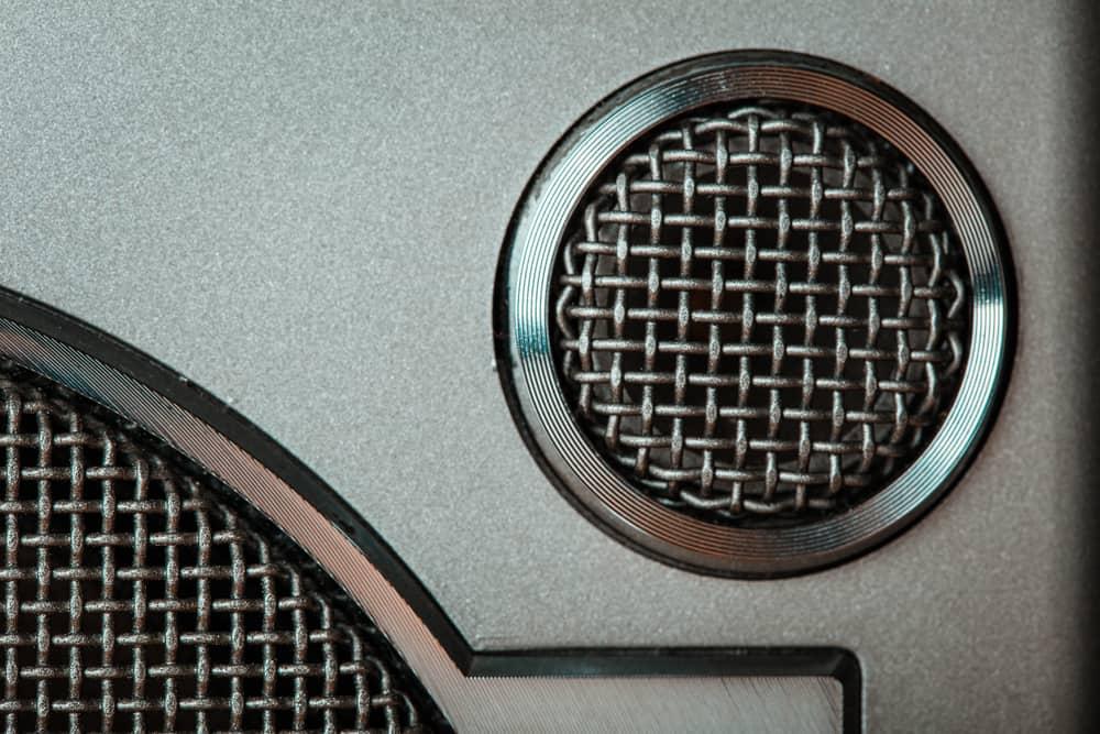 retro speaker grill