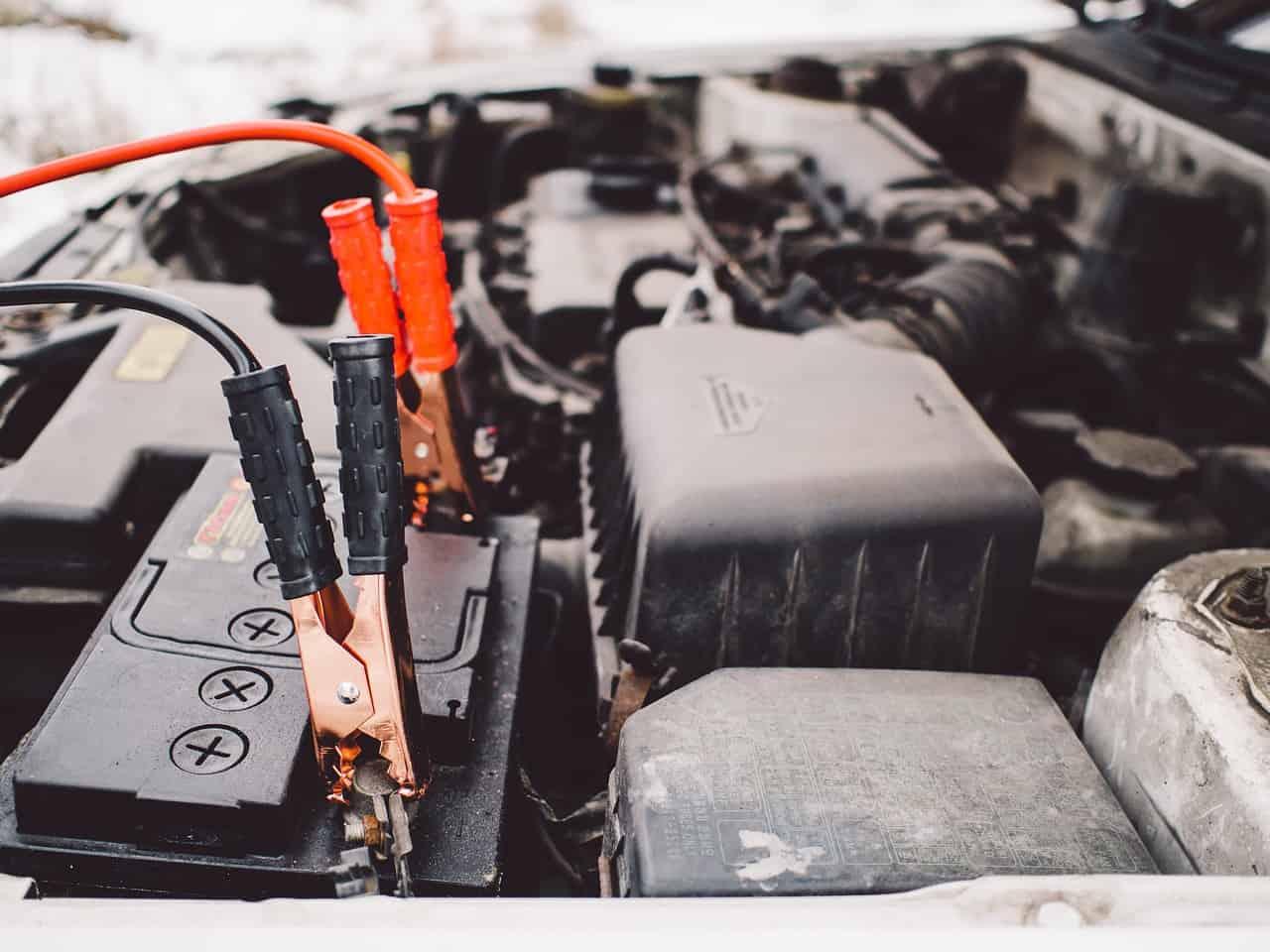 car jumper cables audio