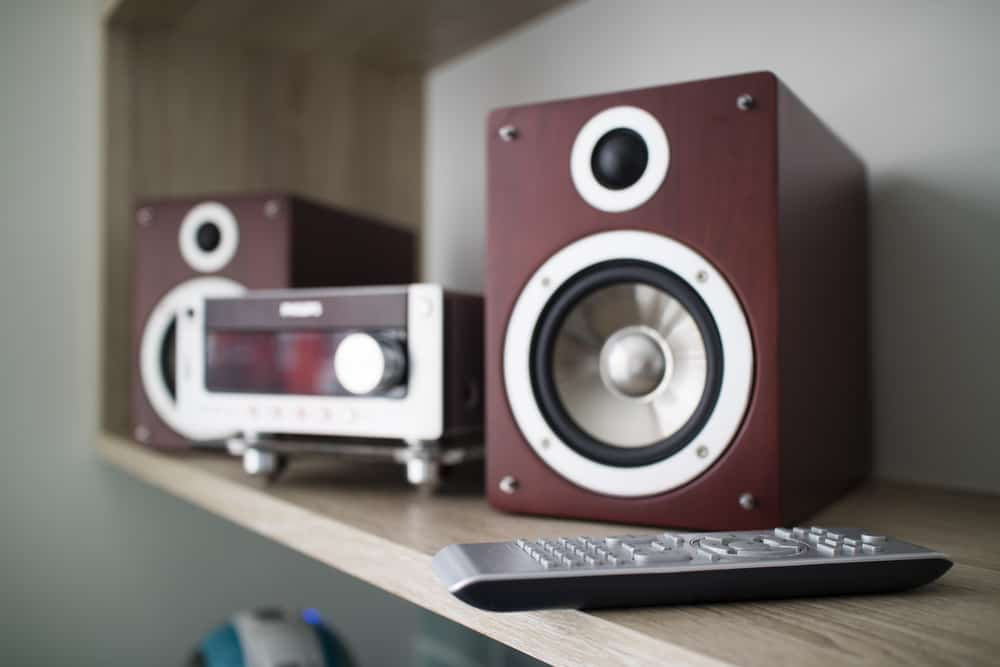 Wooden audio speakers